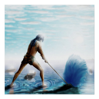 GreekGods-Poseidon ポスター