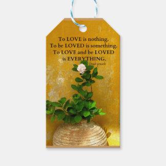 greekproverbInspirational愛引用文のギリシャ人の諺 ギフトタグ
