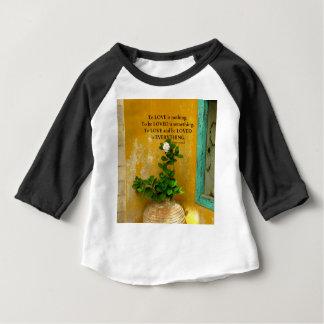 greekproverbInspirational愛引用文のギリシャ人の諺 ベビーTシャツ
