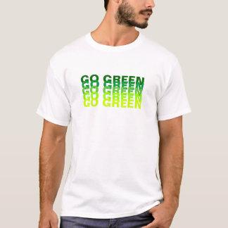 GREEN/Earth日は行きます Tシャツ
