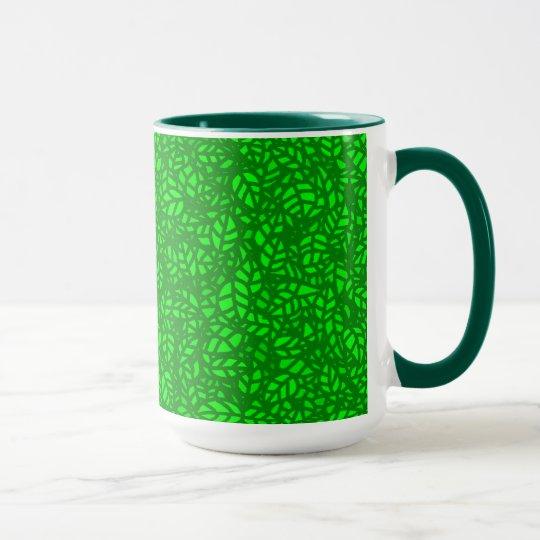 green leaves マグカップ