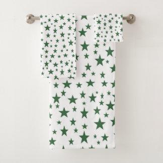 Green Stars バスタオルセット