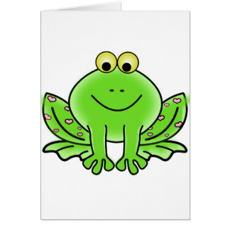 Green_Valentine_Frog_with_pink_hearts.png カード
