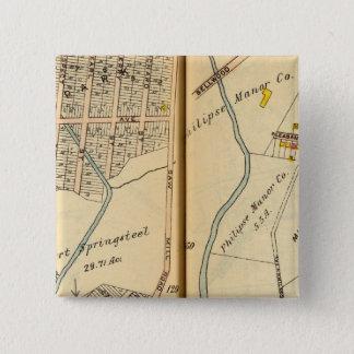 Greenburg、ニューヨーク13 5.1cm 正方形バッジ