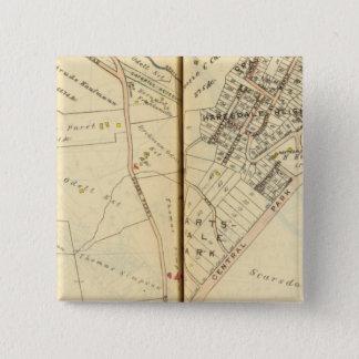 Greenburg、ニューヨーク3 5.1cm 正方形バッジ