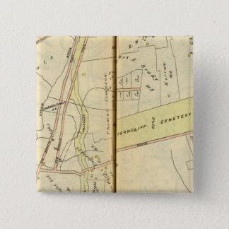 Greenburg、ニューヨーク4 5.1cm 正方形バッジ