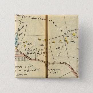 Greenburg、ニューヨーク5 5.1cm 正方形バッジ