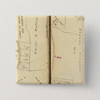 Greenburg、ニューヨーク6 5.1cm 正方形バッジ