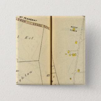 Greenburg、ニューヨーク7 5.1cm 正方形バッジ