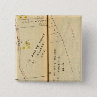 Greenburg、ニューヨーク8 5.1cm 正方形バッジ