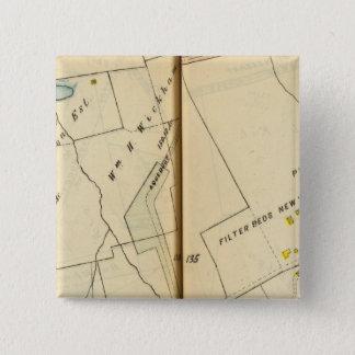 Greenburg、ニューヨーク9 5.1cm 正方形バッジ
