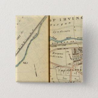 Greenburg、ニューヨーク 5.1cm 正方形バッジ
