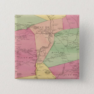 Greenburghの町 5.1cm 正方形バッジ