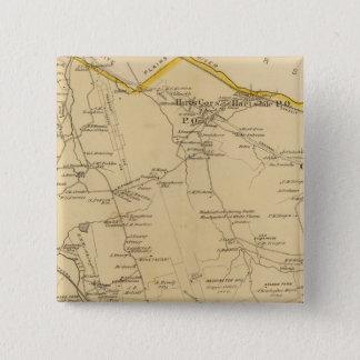 Greenburgh、ニューヨーク 5.1cm 正方形バッジ