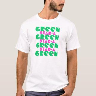 GREENGREEN STAR-A Tシャツ