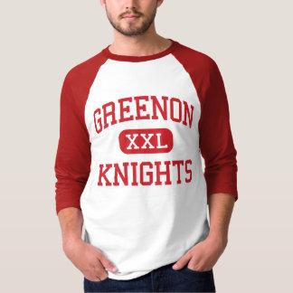 Greenon -騎士-高等学校-スプリングフィールドオハイオ州 tシャツ