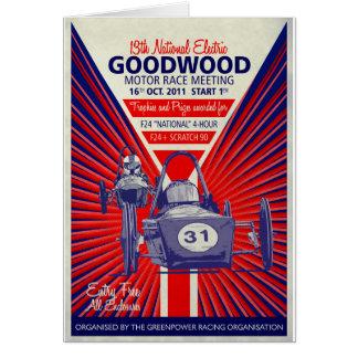Greenpowerの国民の最終的なヴィンテージポスター2011年 カード