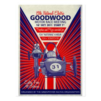 Greenpowerの国民の最終的なヴィンテージポスター2011年 ポストカード