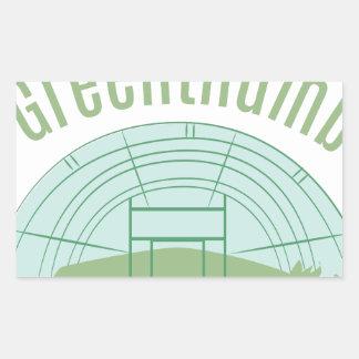 Greenthumb 長方形シール
