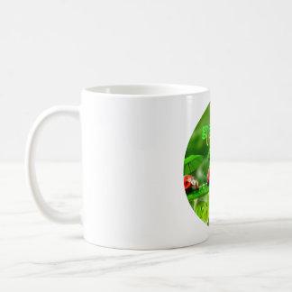 greenUmbrellas.orgのロゴのクラシックなコーヒー・マグ コーヒーマグカップ