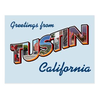 Greetings from Tustin, California ポストカード