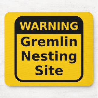 Gremlinの警告のマウスパッド マウスパッド