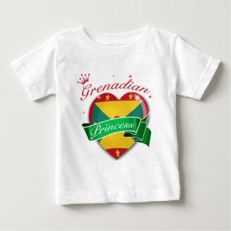 Grenadianプリンセス ベビーTシャツ