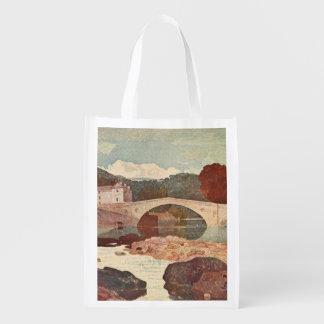 Greta橋、苦土緑泥石の丘、イギリス エコバッグ