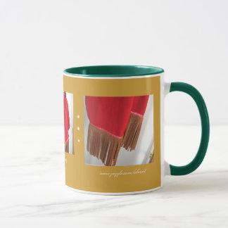 Gretchenのマグによるフリンジのスカーフ マグカップ