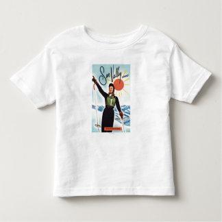Gretchen Fraser広告ポスター トドラーTシャツ
