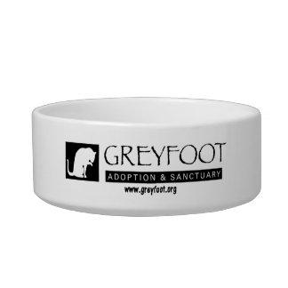 Greyfoot猫の救助のロゴのペットボウル ボウル