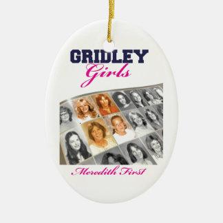 Gridleyの女の子の表紙 セラミックオーナメント