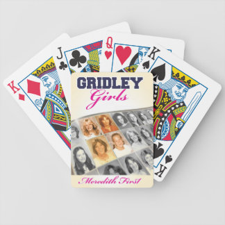 Gridleyの女の子の表紙 バイスクルトランプ