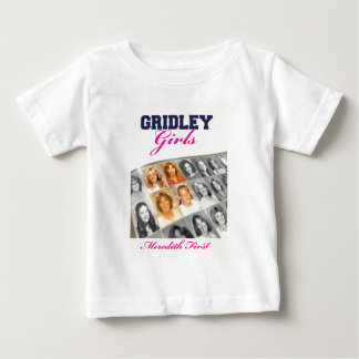Gridleyの女の子の表紙 ベビーTシャツ