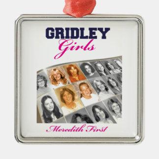 Gridleyの女の子の表紙 メタルオーナメント