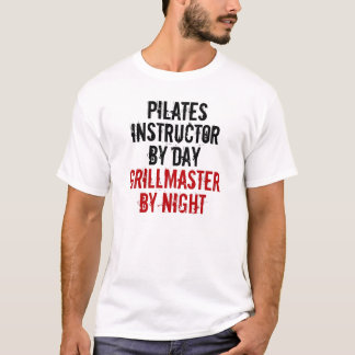 Grillmaster Pilatesのインストラクター Tシャツ