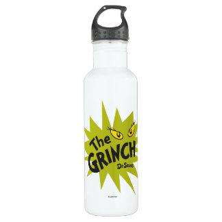Grinchクラシックな|の緑のスターバスト ウォーターボトル