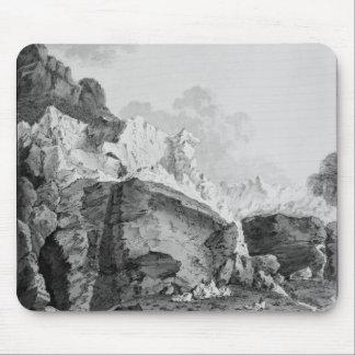 Grindelwaldの氷河 マウスパッド