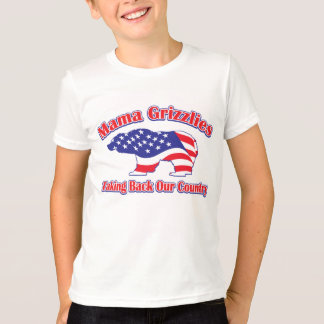 Grizzliesママ Tシャツ
