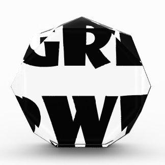 grl pwr5 表彰盾