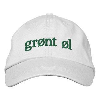 Grøntのøl 刺繍入りキャップ