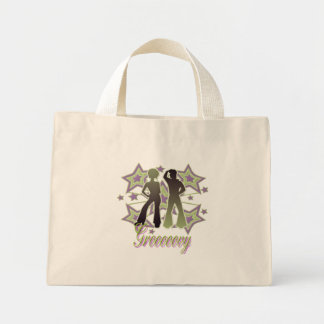 Grooooovy -小さいトート ミニトートバッグ