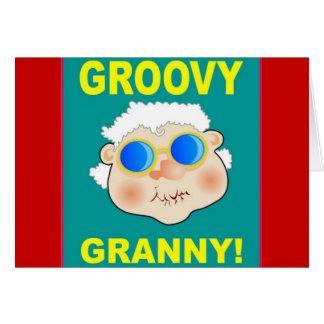 Grooveyのおばあさんの漫画 カード