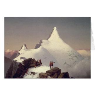 「Grossglockner」山の眺め カード