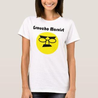 Grouchoのマルクス主義者(レディースワイシャツ) Tシャツ