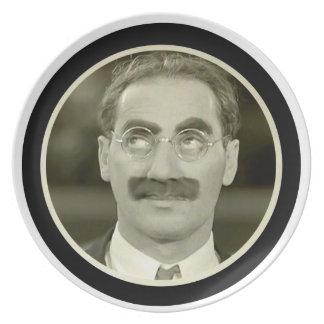 Grouchoマルクス プレート