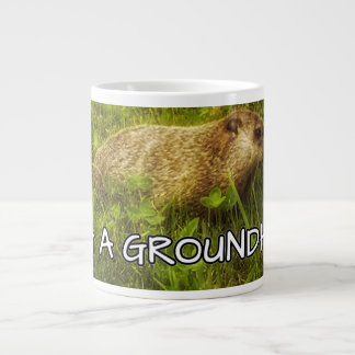 groundhogのマグを抱き締めて下さい ジャンボコーヒーマグカップ