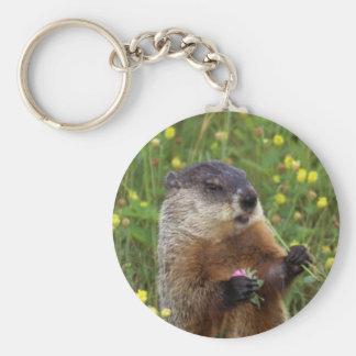 Groundhogの姿勢 キーホルダー