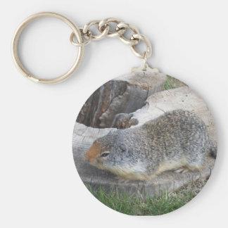 Groundhogのkeychain キーホルダー