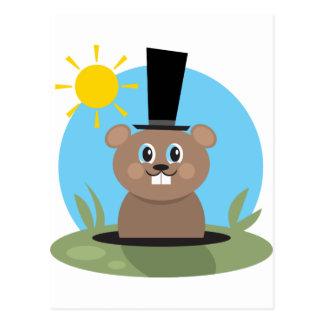 Groundhog ポストカード